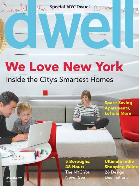 "Featured on Dwell cover  ""Special NYC Issue"" Photo 10 of K Residence modern home"