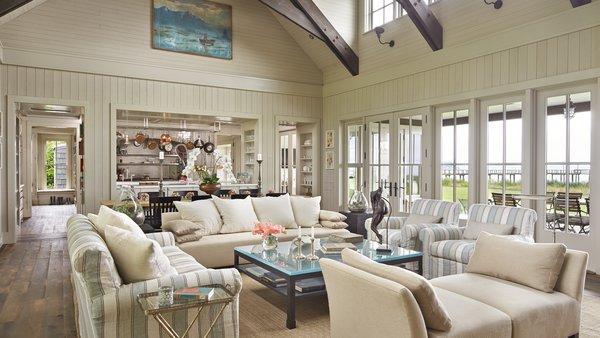 Modern home with living room. Mutiny Bay Photo 4 of Mutiny Bay