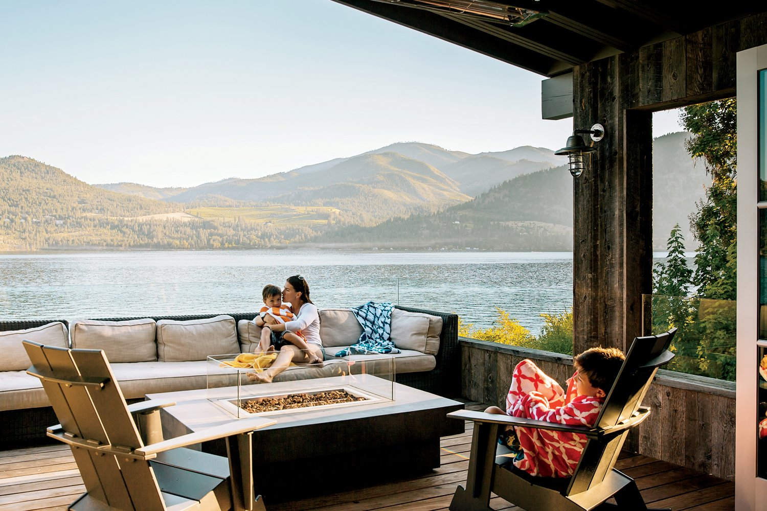 Lake Chelan Tagged: Outdoor, Wood Patio, Porch, Deck, and Small Patio, Porch, Deck. Lake Chelan by Hoedemaker Pfeiffer