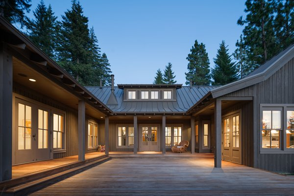 Modern home with outdoor. Suncadia Photo  of Suncadia