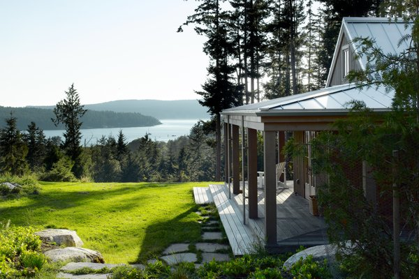 Modern home with outdoor. Decatur Island Photo  of Decatur Island