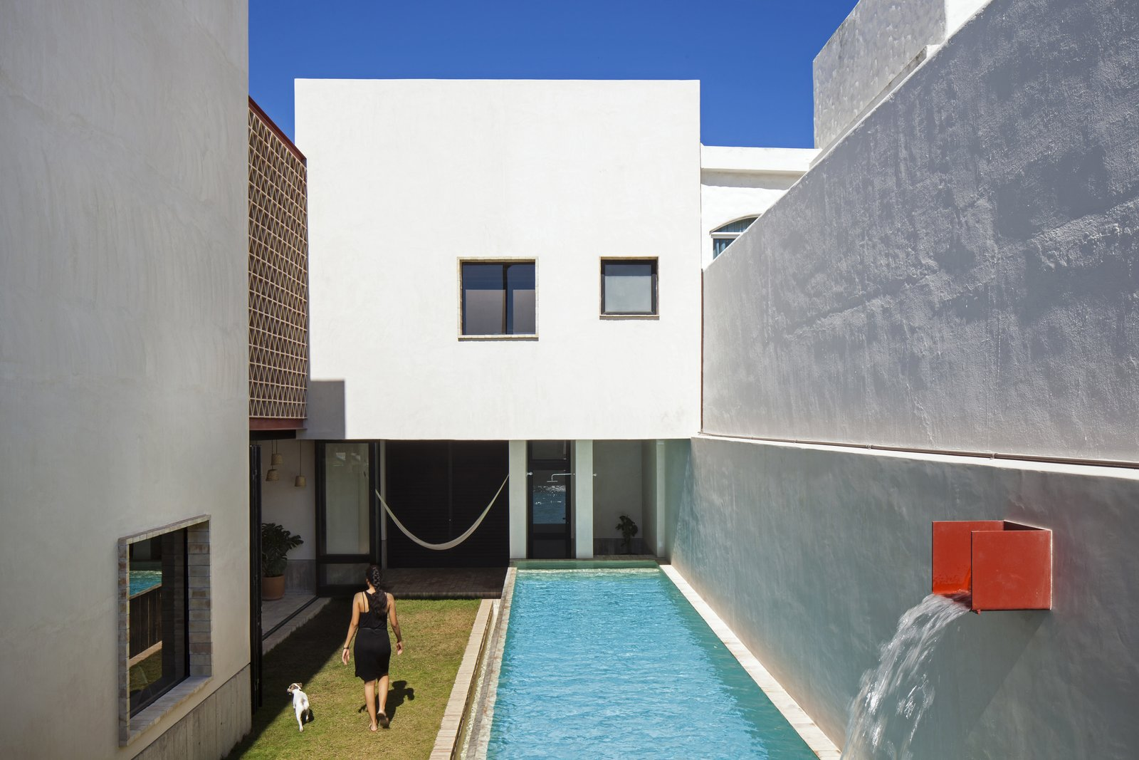 Patio. Tagged: Outdoor and Small Patio, Porch, Deck.  Casa Iguana by OBRA BLANCA