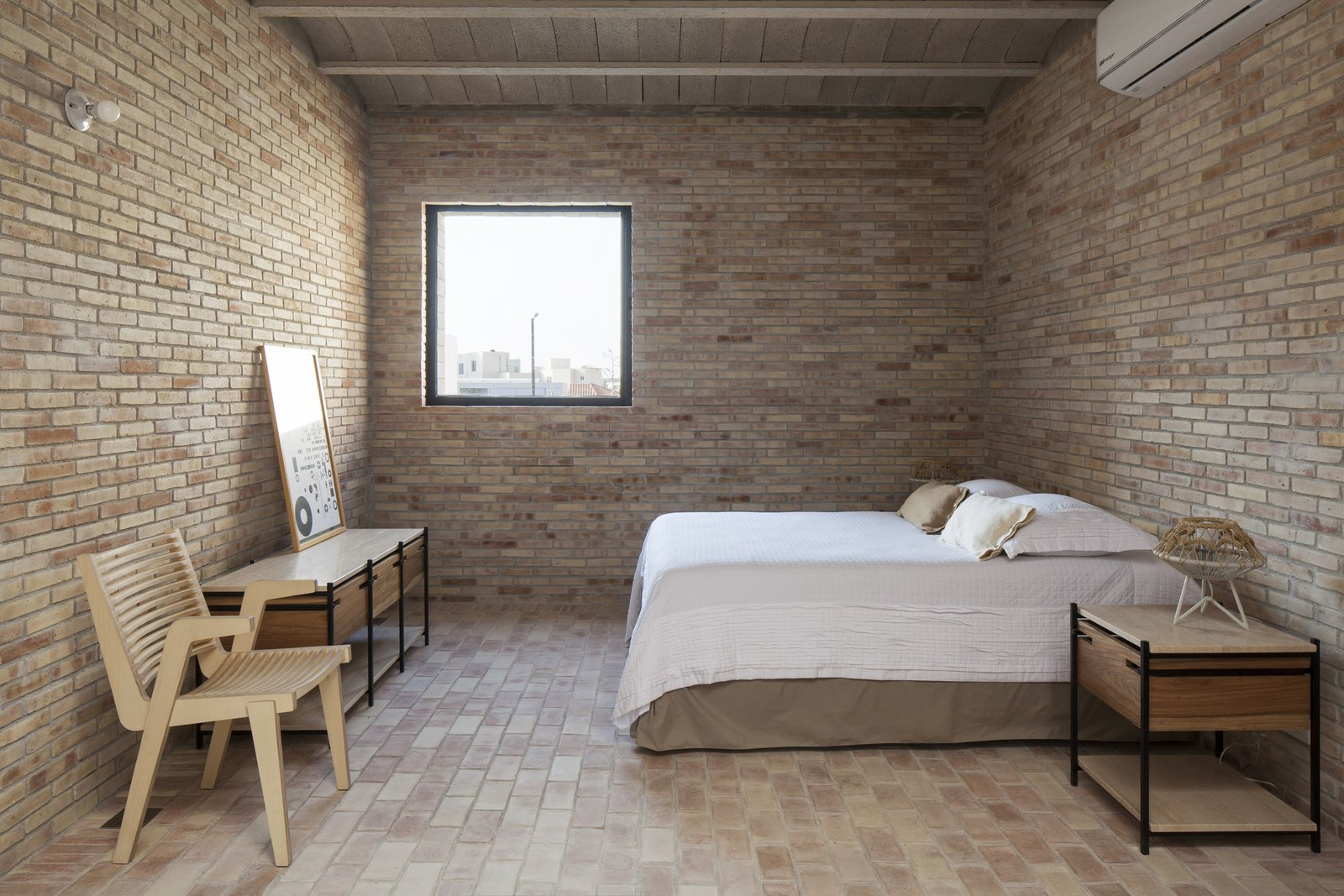 Bedroom. Tagged: Bedroom and Bed.  Casa Iguana by OBRA BLANCA