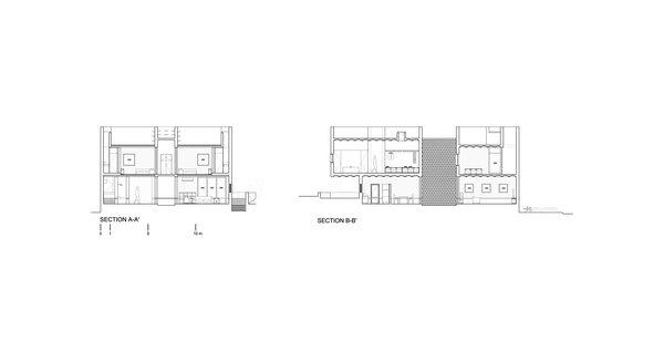 Section plans Photo 16 of Casa Iguana modern home