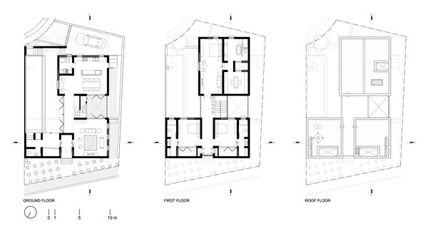 Modern home with shed & studio. Plans Photo 14 of Casa Iguana