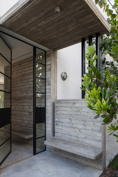 Modern home with doors, exterior, metal, and swing door type. Photo 17 of Urban Life In The Country