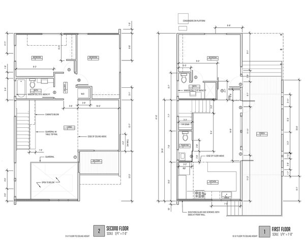 Plan of residence Photo 12 of Dorgenois modern home