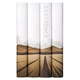 "John Steinbeck Book Set ""California Field"""