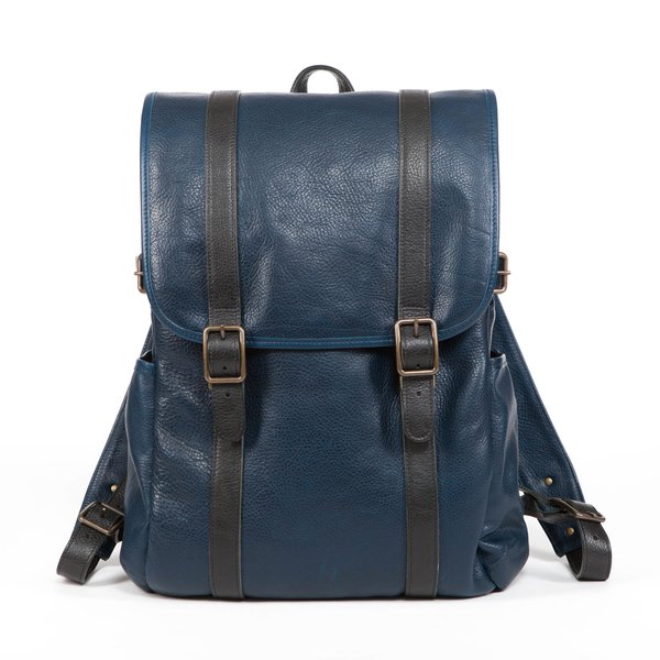 "Moore & Giles Fine Leather Backpack ""Crews"""
