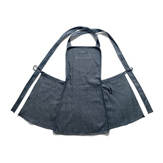 Denim Cross-Back Apron