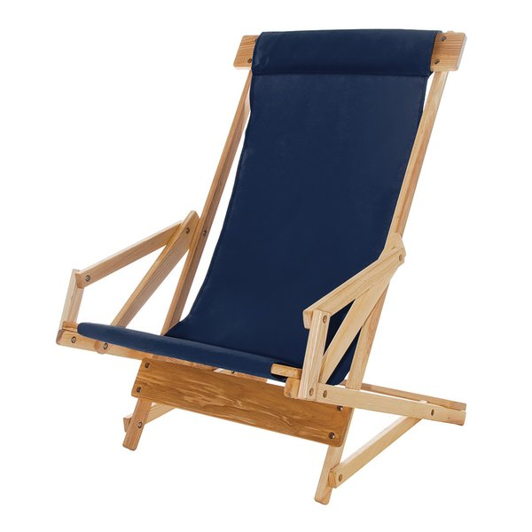 Wood & Canvas Sling Recliner
