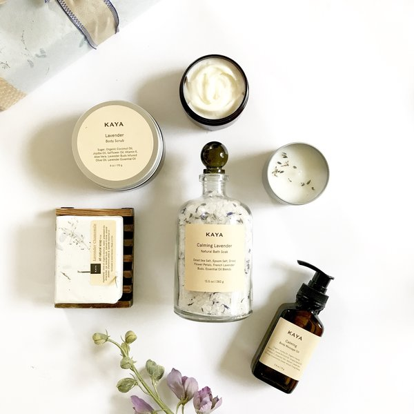 Lavender Spa Gift Set