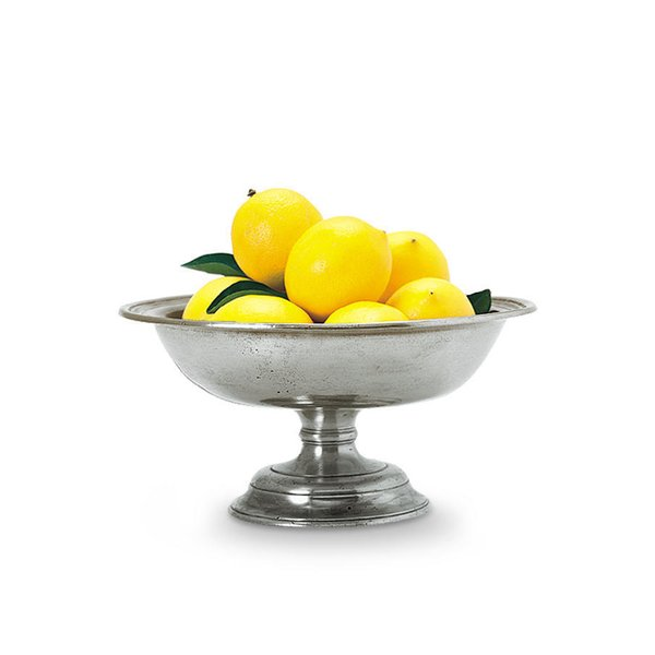 MATCH Pewter Fruit Compote Bowl