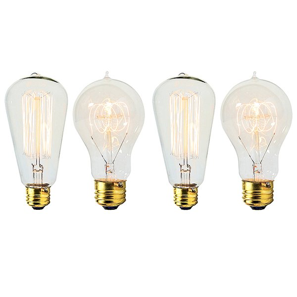 Edison Light Bulbs (Set of 4)