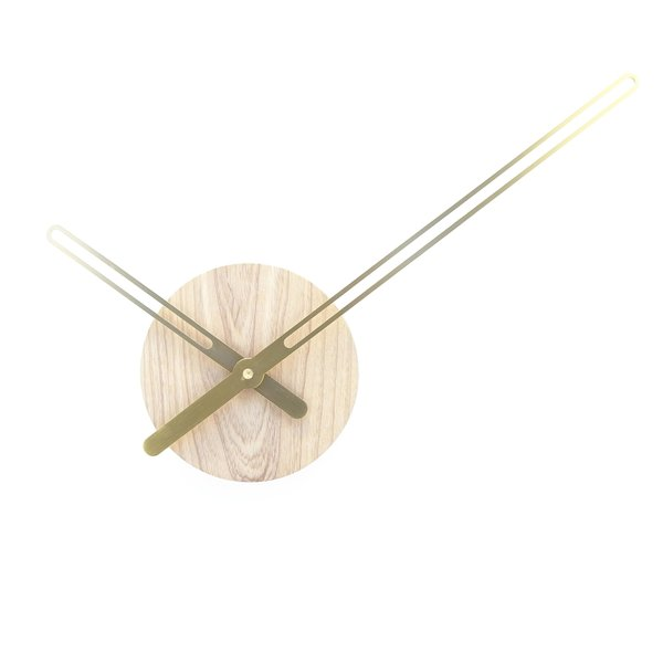"Sweep Wall Clock ""Ash"""