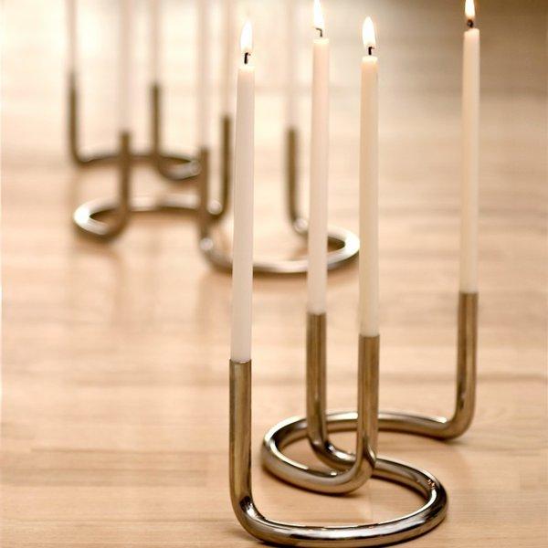 Gemini Candleholders by Peter Karpf (Set of 2)