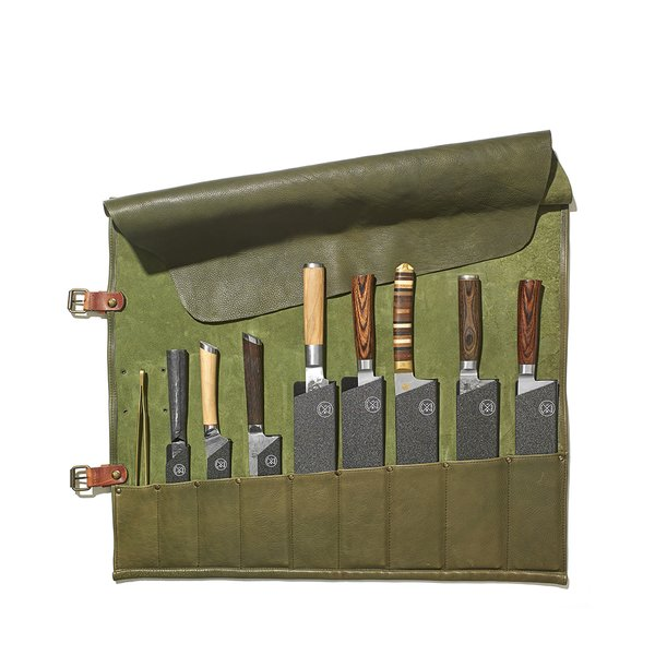 Chef's Leather Knife Roll