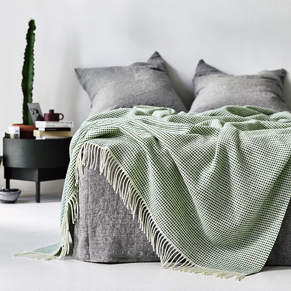 Punkt Norwegian Lambswool Blanket