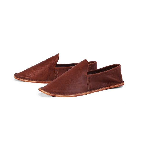 Men's Leather House Shoes