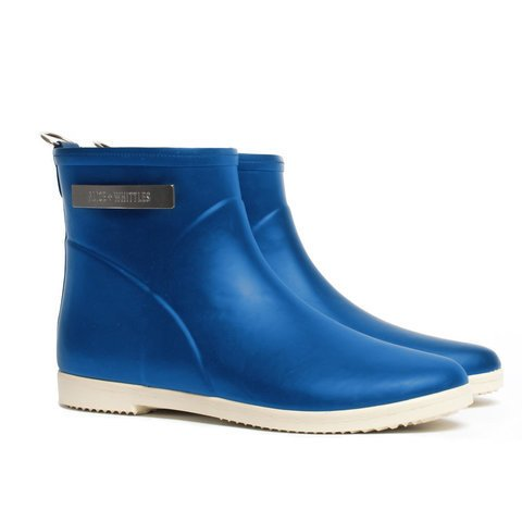 Natural Rubber Ankle Rain Boots