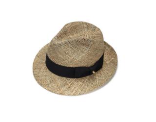 Classic Fedora Straw Hat