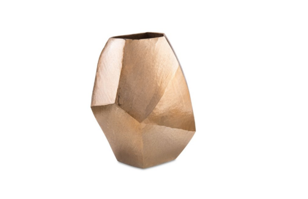 Gold Angular Vase