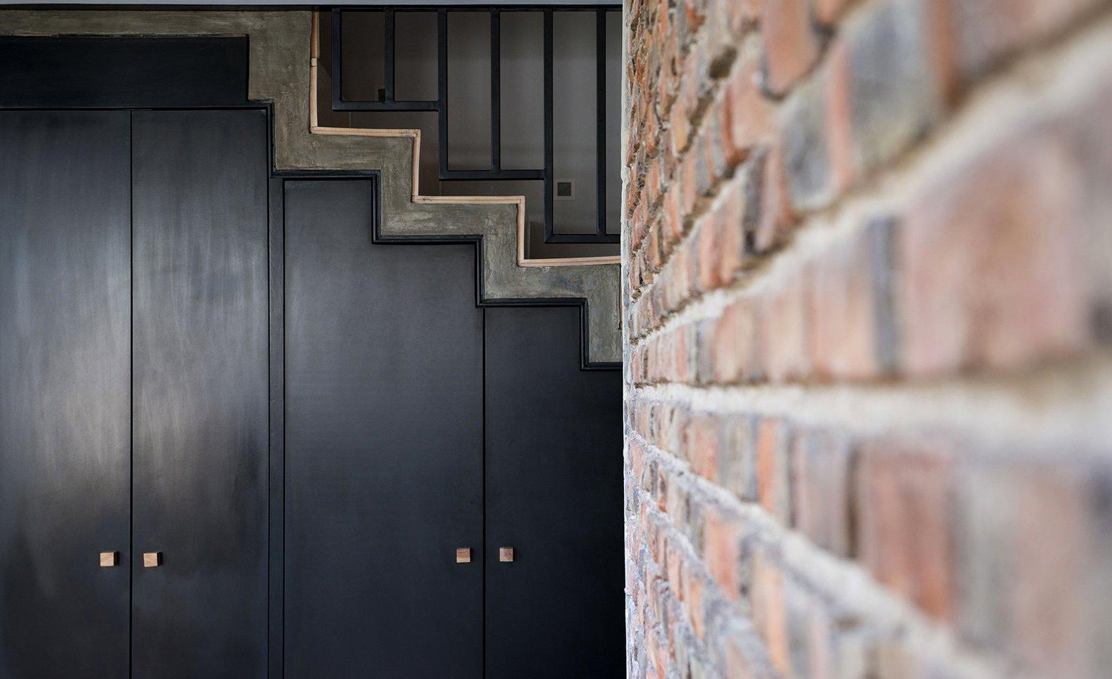 Detail - Under stairs Closet