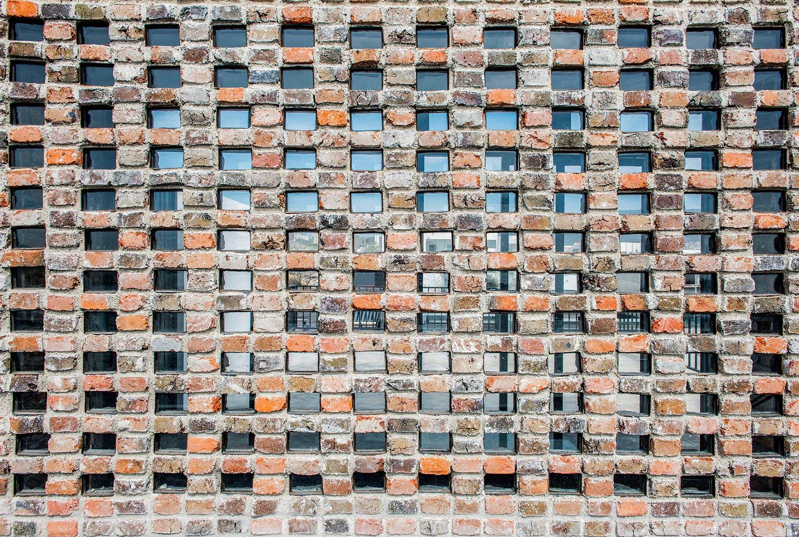 Detail - Masonry  Casa MA by e|arquitectos