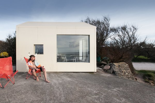 Modern home with outdoor and front yard. @aubry.guillaume Photo 9 of Viking Seaside Summer Cabin