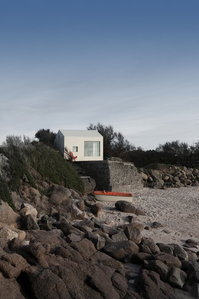 Modern home with outdoor and front yard. @aubry.guillaume Photo 10 of Viking Seaside Summer Cabin