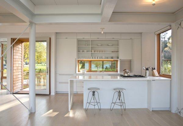 Kitchen view. Photo 5 of Chesapeake Bay House modern home
