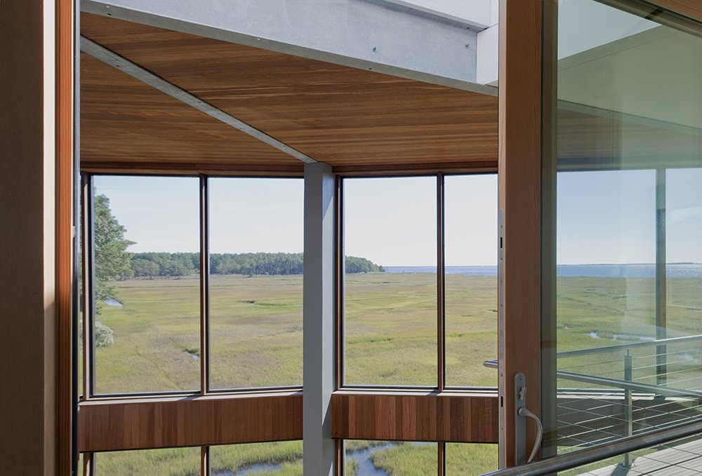 Tagged: Windows, Wood, Picture Window Type, and Sliding Window Type.  Marsh House by McInturff Architects