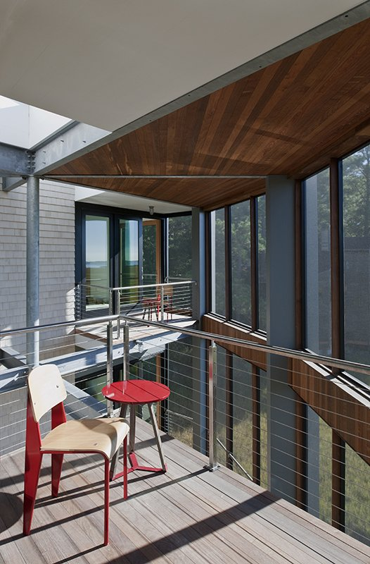 Tagged: Outdoor, Small Patio, Porch, Deck, Large Patio, Porch, Deck, Wood Patio, Porch, Deck, Metal Patio, Porch, Deck, Decking Patio, Porch, Deck, Horizontal Fences, Wall, Wire Fences, Wall, and Metal Fences, Wall.  Marsh House by McInturff Architects