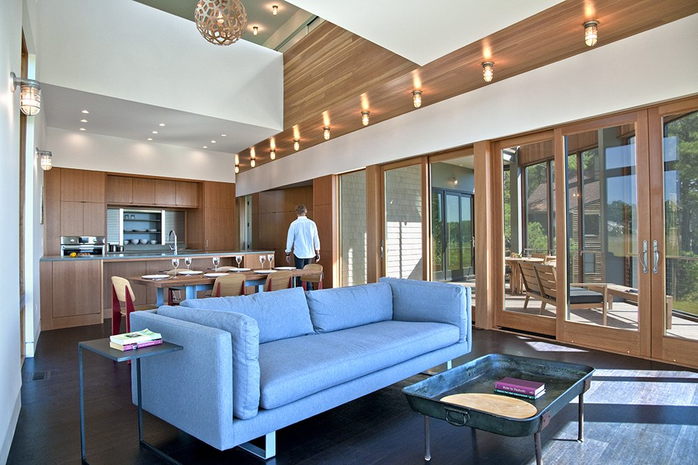 Tagged: Doors, Wood, Sliding Door Type, and Exterior.  Marsh House by McInturff Architects