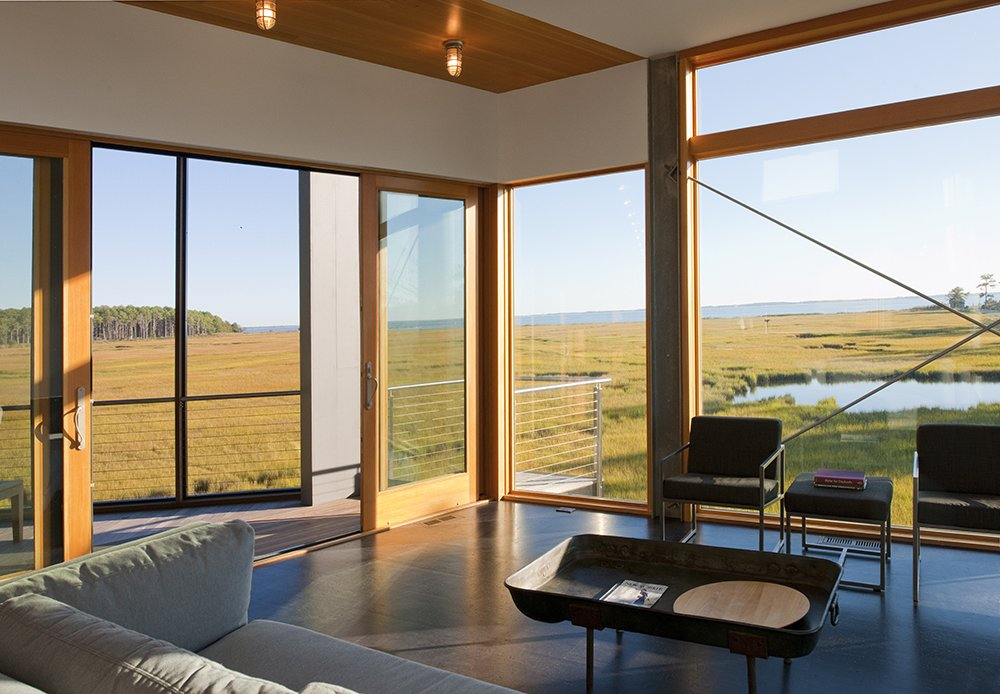 Tagged: Doors, Sliding Door Type, Exterior, Interior, and Wood.  Marsh House by McInturff Architects