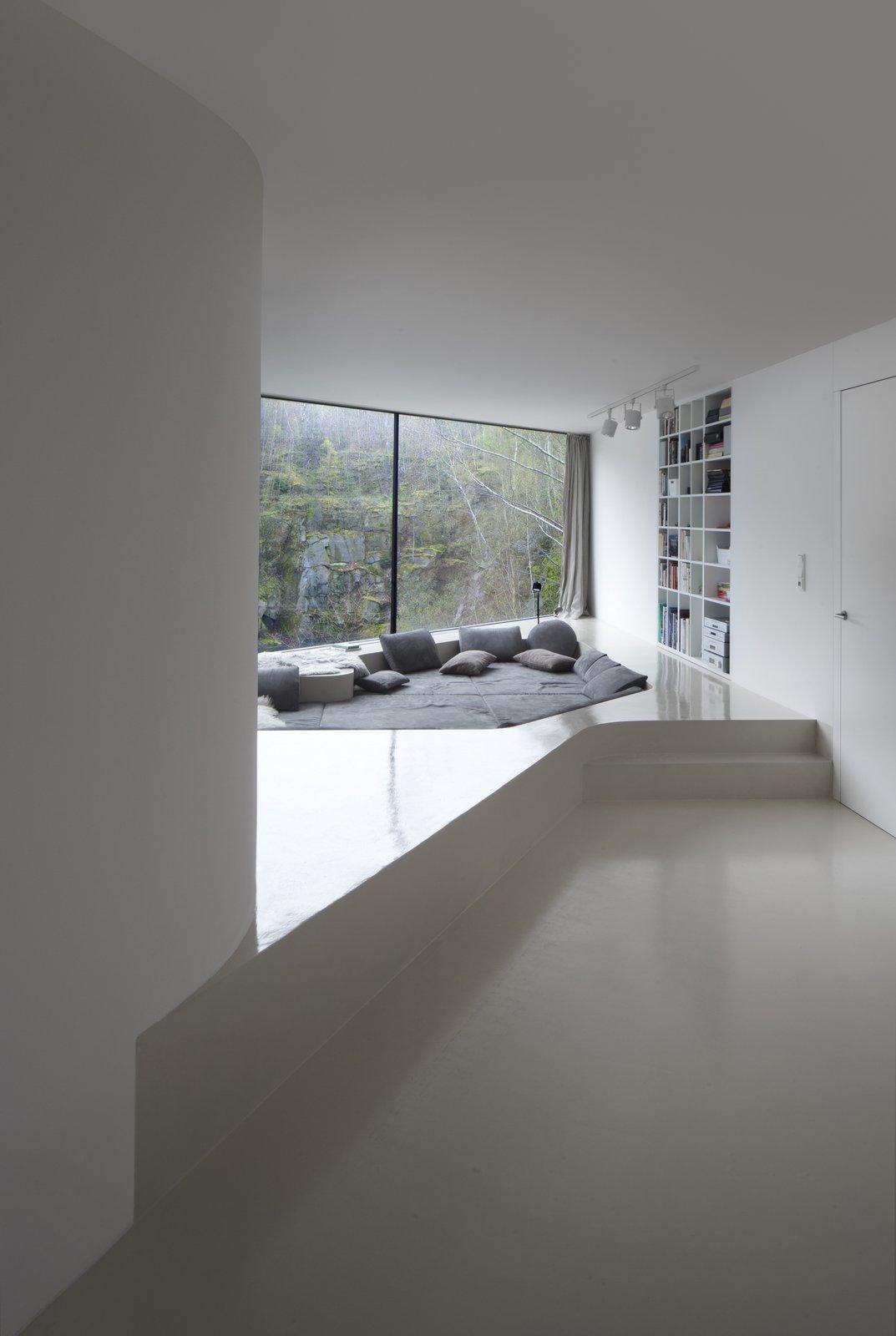 Tagged: Living Room, Sofa, and Bench.  Family House Prototype by Matej Šišolák
