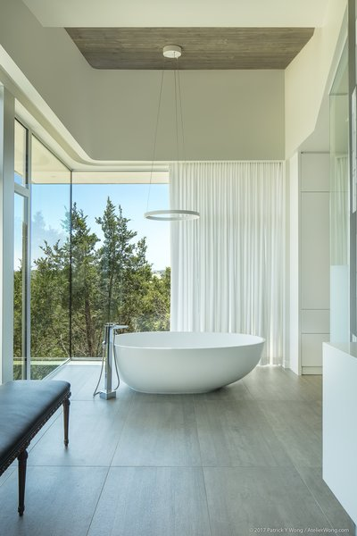 master bath detail featuring the freestanding soaking tub
