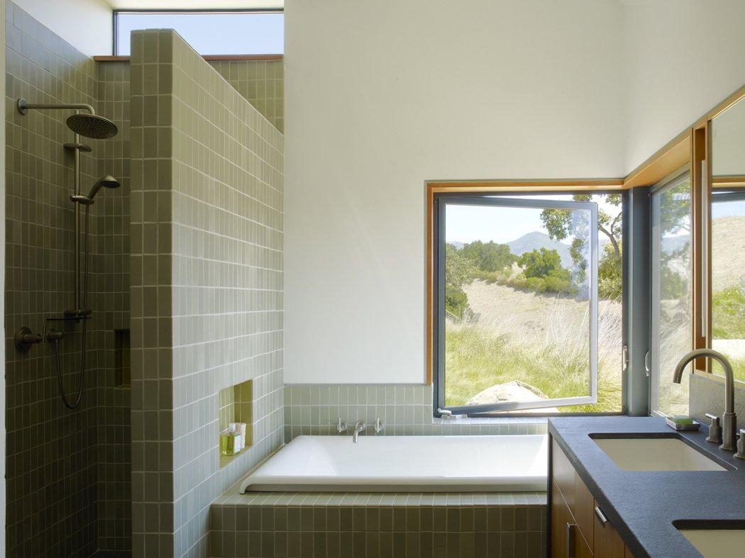 Tagged: Bath Room.  Santa Ynez House by Fernau & Hartman Architects