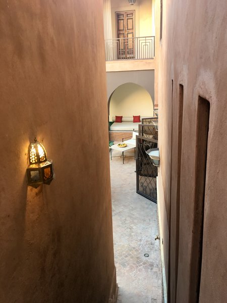 Modern home with outdoor, rooftop, and garden. http://abnb.me/EVmg/ZerWHwW7KD Photo 14 of ROYALRIAD MARRAKECH