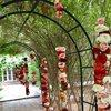 Beautiful entrance gardens  Photo  of VillasTaos Retreat Pool Villa modern home
