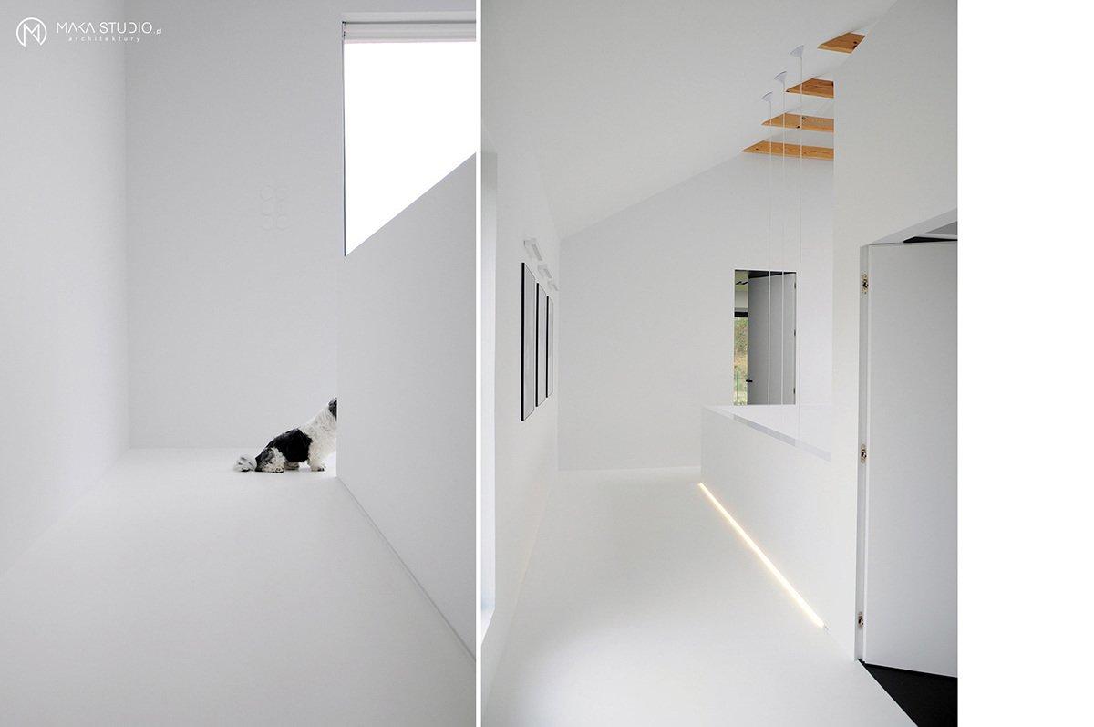 Tagged: Hallway.  Minimal Seaside Villa by MAKA Studio