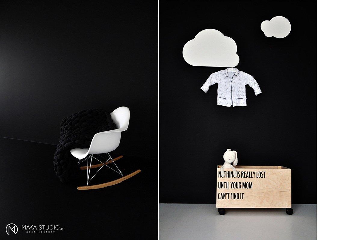 Tagged: Kids Room, Bedroom, Rockers, Playroom, Chair, Storage, Dresser, Neutral Gender, Boy Gender, Shelves, and Toddler Age.  Minimal Seaside Villa by MAKA Studio