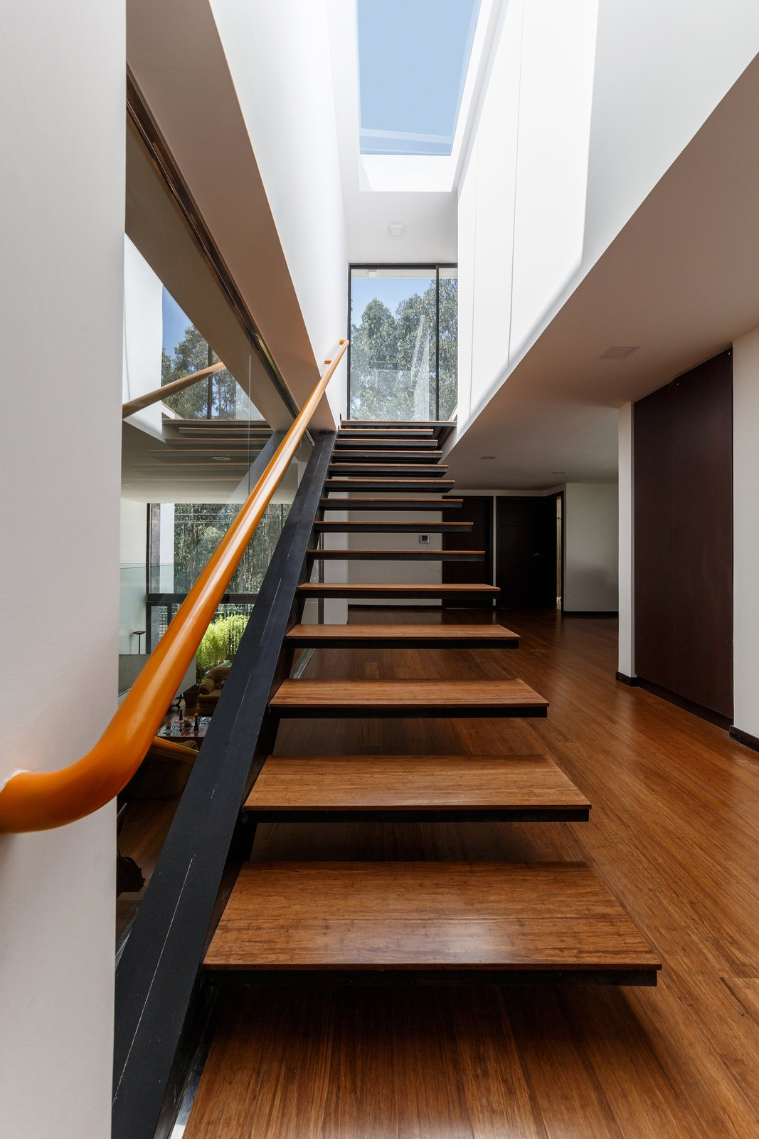 Tagged: Staircase, Wood Tread, and Metal Railing.  FF Houses by TEC Taller EC