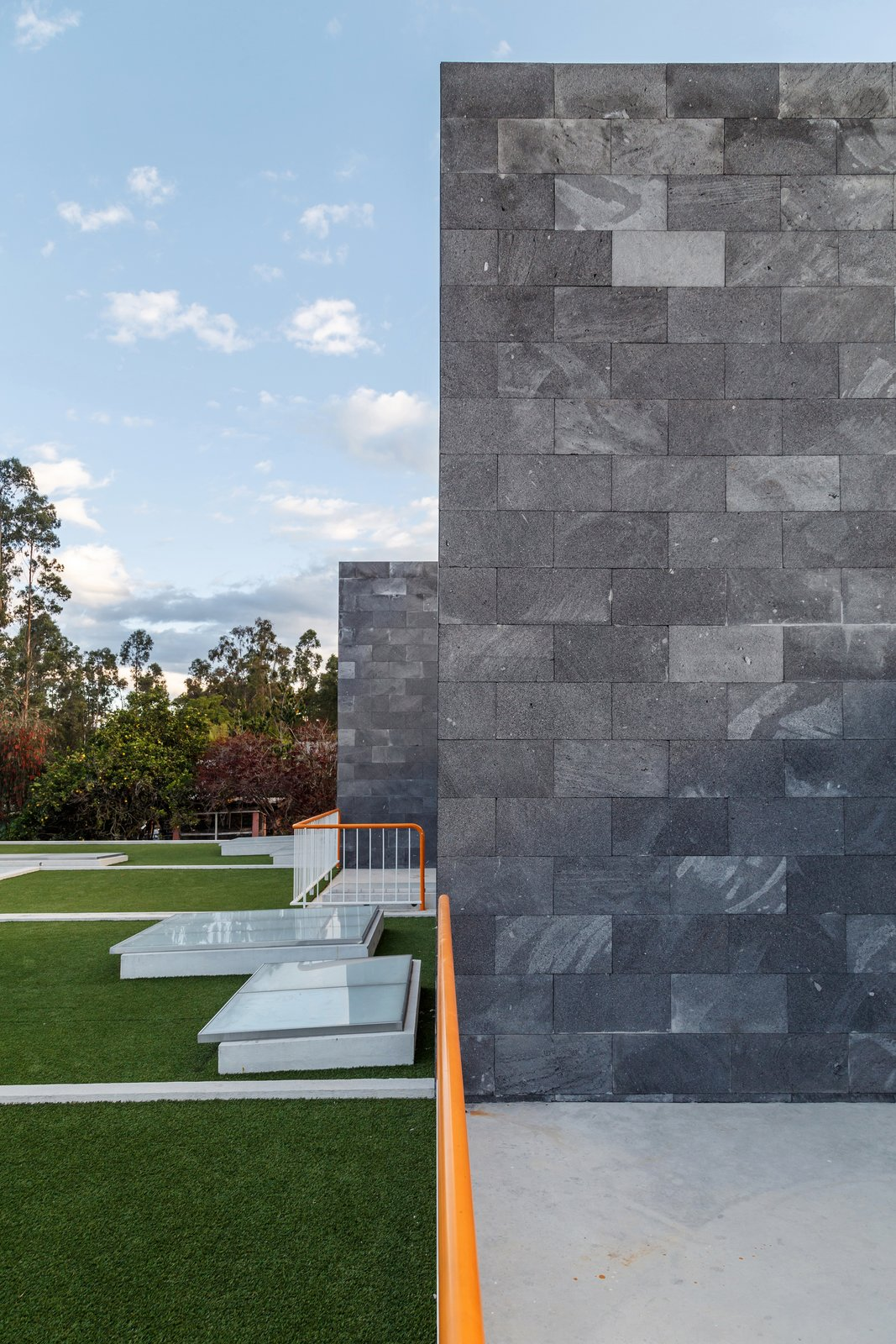 Tagged: Outdoor, Metal Fences, Wall, Gardens, and Rooftop.  FF Houses by TEC Taller EC
