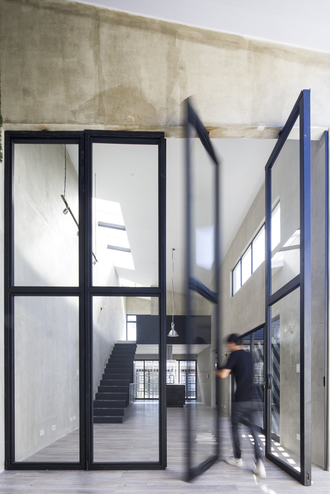 Tagged: Interior, Metal, Swing Door Type, and Outdoor.  Casa Ching by MG design studio