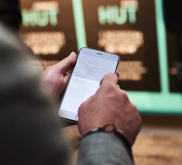 HUT app