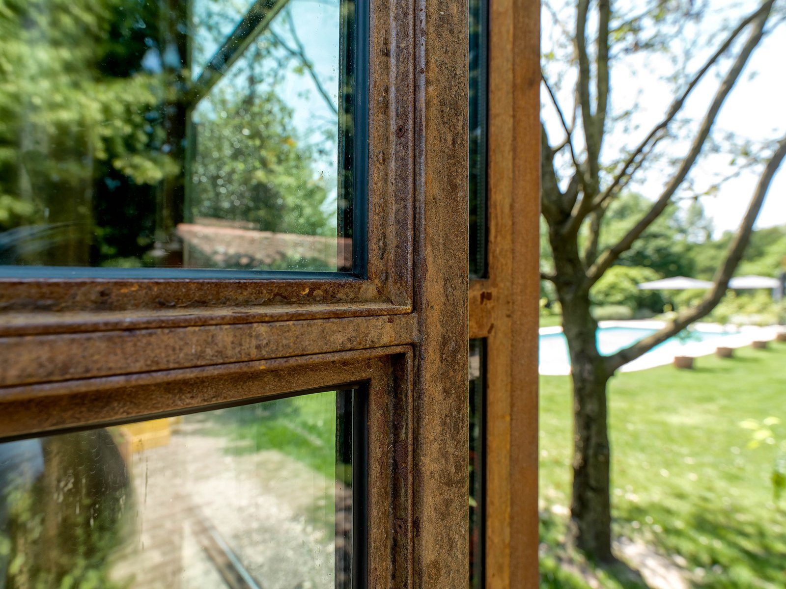 Tagged: Windows and Metal.  Country House by zanon architetti associati