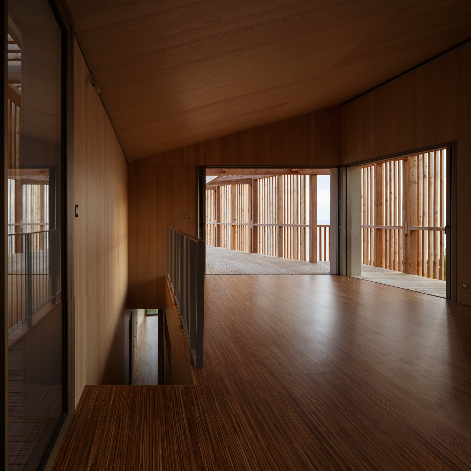 Tagged: Living Room, Medium Hardwood Floor, and Wall Lighting.  The KGET in Marseille by Pierre-vincent Debatte