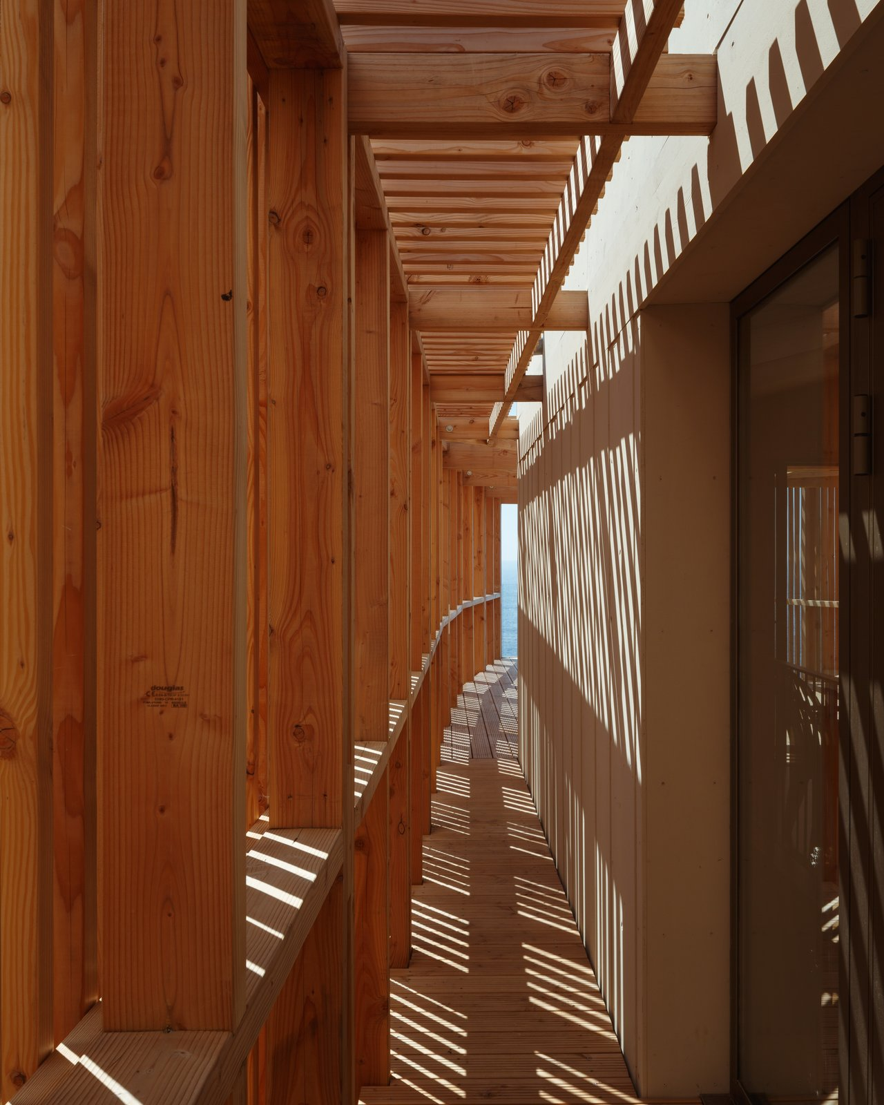 Tagged: Outdoor, Small Patio, Porch, Deck, Wood Fences, Wall, Wood Patio, Porch, Deck, and Vertical Fences, Wall.  The KGET in Marseille by Pierre-vincent Debatte