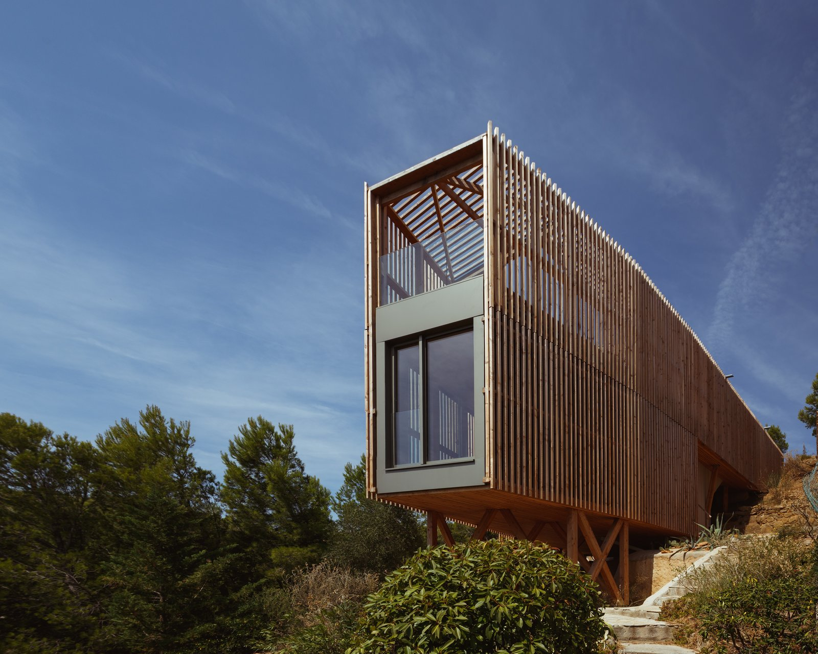 Tagged: Exterior, House, and Wood Siding Material.  The KGET in Marseille by Pierre-vincent Debatte